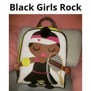 Betsey Johnson Tennis Girl Backpack/ Bookbag